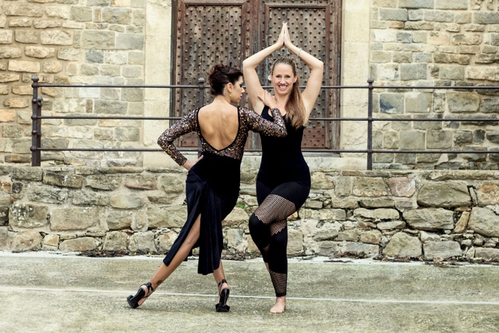 Roxana Suarez, tango yoga, exercise for dancers