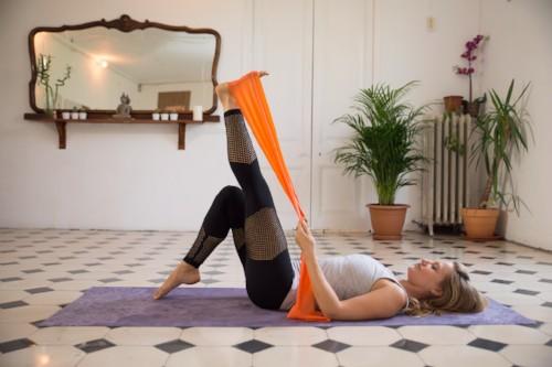 pilates livestream, online pilates, barcelona