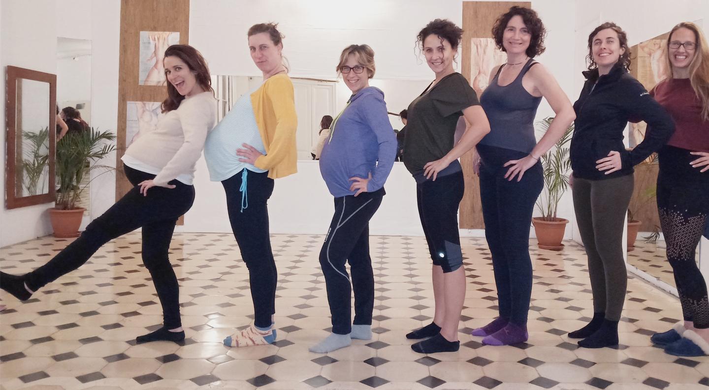 pregnancy yoga, barcelona, fertility yoga