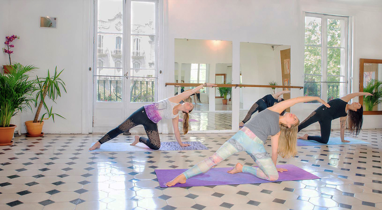 online yoga classes in Barcelona